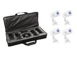 EUROLITE Set 4x AKKU Wash Spot, softbag, charger