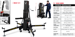 GUIL ULK-600, 300kg/6m Front Load Lifting Tower