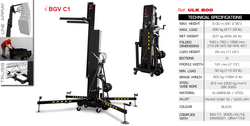 GUIL ULK-800, 280kg/8m Front Load Lifting Tower