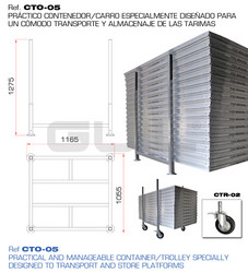 GUIL TM-440XL/2x0,50 Stage element