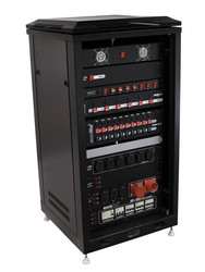 ROADINGER Steel Cabinet SRT-19, 16U with Door