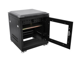 ROADINGER Steel Cabinet SRT-19, 10U with Door