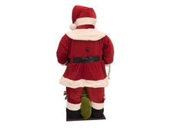EUROPALMS 190cm Santa, inflatable with integrated pump