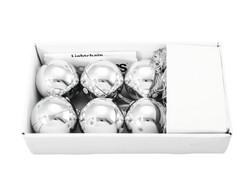 EUROPALMS 6cm LED Christmas Ball, 6x