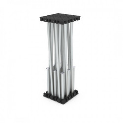 Aludeck Spider - Risers Silver