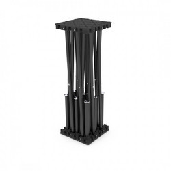 Aludeck Spider - Risers Black