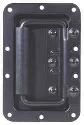 ROADINGER Hinged Case handle, black