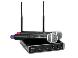 OMNITRONIC UHF-102 Langaton Mikrofonijärjestelmä | 823.5/863.1MHz
