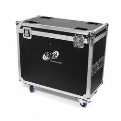 Flightcase for 2x ETEC Pro Beam 280 Hybrid Moving Head
