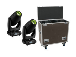FUTURELIGHT Set 2x DMH-300 CMY Moving-Head + Case