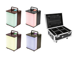 EUROLITE Set 4x AKKU UP-1 Glow QCL + Case