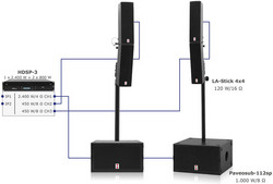Voice-Acoustic SubSat-LA Set - Plug & Play Satellite System