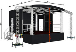 Profiled S30 (5x6x5m) Mobile Stage