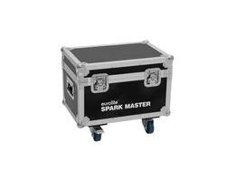 ROADINGER Flightcase 2x Spark Master with wheels