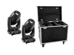 FUTURELIGHT Set 2x DMH-200 LED Moving-Head + Case