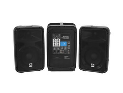 OMNITRONIC Set COMBO-160BT active PA system + UWM-2HH USB Wireless mic set