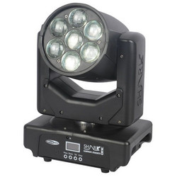 Showtec Shark Zoom Wash One, 7x15W RGBW LED