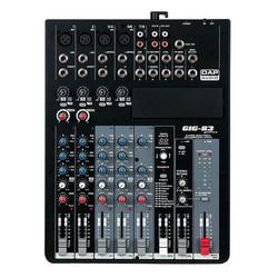 DAP GIG-83CFX, 8 Channel live mixer incl. dynamics & DSP