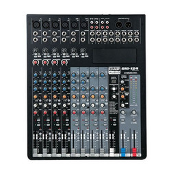 DAP GIG-124CFX, 12 Channel live mixer incl. dynamics & DSP