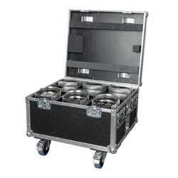 Showtec EventSpot 1600 Q4 Brushed Aluminium Set