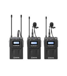 Boya BY-WM8 Pro-K2 Langaton Lavalier Mikrofoni x2 + Vastaanotin