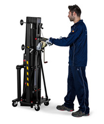 GUIL ULK-400 PLUS, 250kg/5m Front Load Lifting Tower