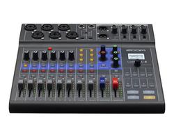 Zoom LiveTrak L8 - Mikseri, Tallennin, Podcaster