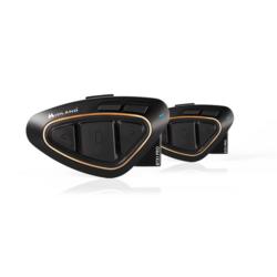 Midland BTX1-Pro Helmet Intercom, Twin Pack + Hifi Speakers