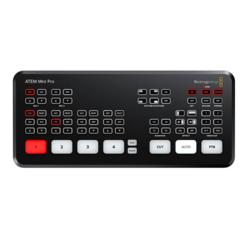 Blackmagic ATEM Mini Pro, HDMI Live Stream Switcher