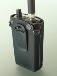 Leather Carry Case for Uniden UBC125XLT / UBC75XLT