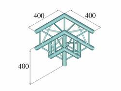 ALUTRUSS DECOLOCK DQ4-SPAL30 3-Way Corner 90° bk