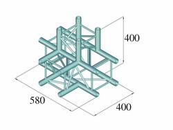 ALUTRUSS DECOLOCK DQ4-SPAT42 4-Way T-Piece bk