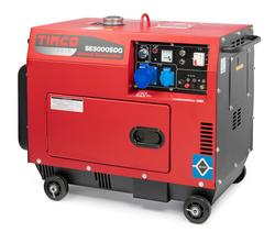 * VUOKRAUS * Timco TSE5000SDG 400V Diesel Generaattori