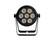 EUROLITE Set 4x LED 7C-7 Silent Slim Spot + Case