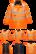 PORTWEST Hi-Vis 7-in-1 Traffic-takki RIS