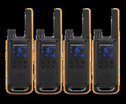 Motorola T82 Extreme PMR446 Portable - QuadPack