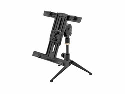 OMNITRONIC Set KS-4 Table Microphone Stand + PD-4 Tablet Holder
