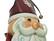 EUROPALMS Santa Claus, Metal, 150cm, red