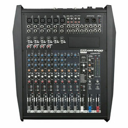 DAP GIG-1000CFX, 12 Channel live mixer incl. dynamics, DSP and 1000W