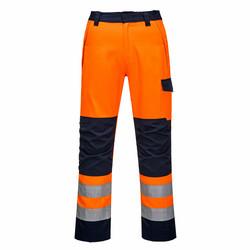 PORTWEST Modaflame Oranssi/Navy RIS Housut