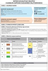 PORTWEST A2P3 yhdistelmäsuodatin (4kpl laatikossa)