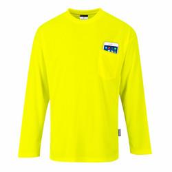 PORTWEST Day-Vis Pitkähihainen Taskullinen T-paita