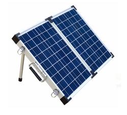 Brightsolar 100W Kannettava ja Taitettava Aurinkopaneeli, sis säätimen