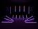 EUROLITE Set 10x LED PR-100/32 Pixel DMX Rail bk + DMX Software