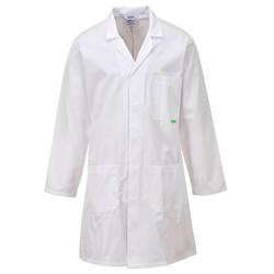 PORTWEST Antimikroobinen Laboratoriotakki