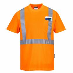 PORTWEST Hi-Vis Taskullinen T-paita