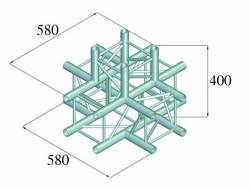 ALUTRUSS DECOLOCK DQ4-SPAT51 5-Way Corner