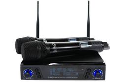 IHOS IWM-200 Double True Diversity UHF Wireless Microphone system