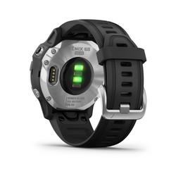Garmin Fenix 6S Solar -urheilukello (Silver/Black)