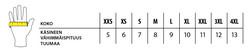 PORTWEST Erikoisvahva Kertakäyttöinen, Puuteriton Nitriilikäsine (Luokka 1)